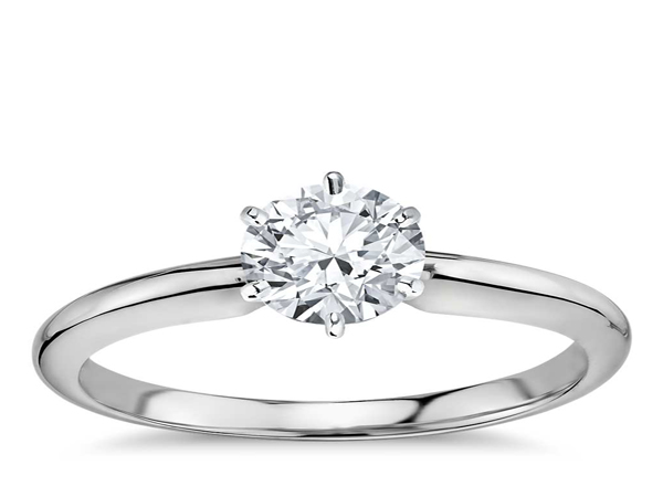 Diamond Engagement Ring by IDDeal Star Collection