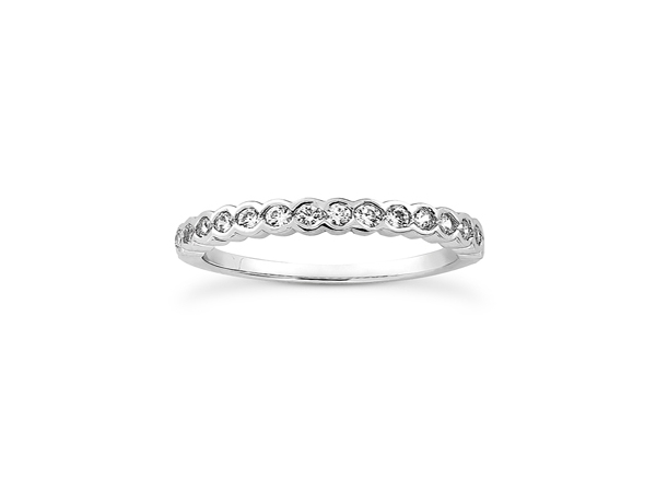 Diamond Wedding Band by Unique Settings