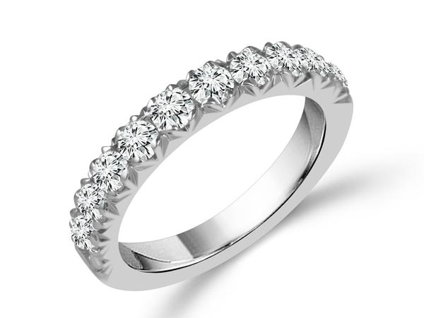 Diamond Wedding Band by IDDeal Star Collection