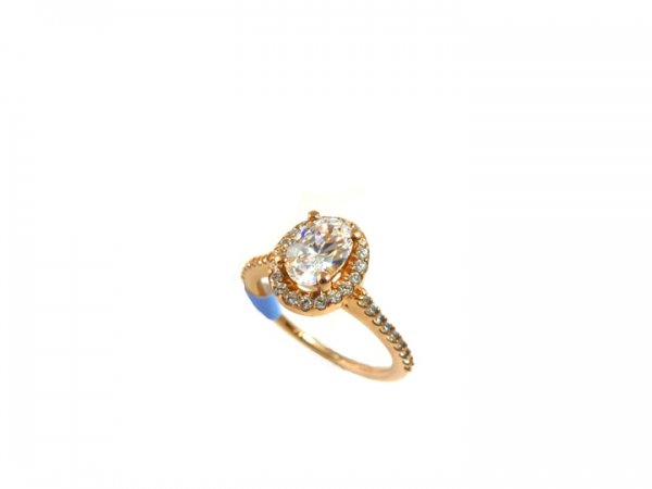 Princess Cut Halo by True Romance