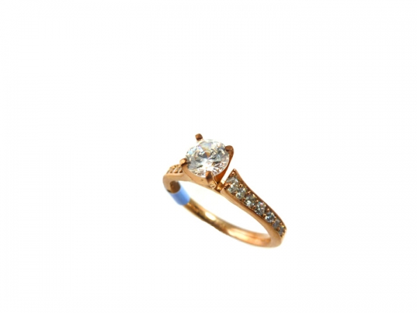 Diamond Semi-Mount Ring by True Romance