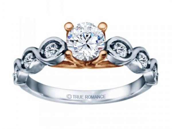 Round Cut Infinity by True Romance