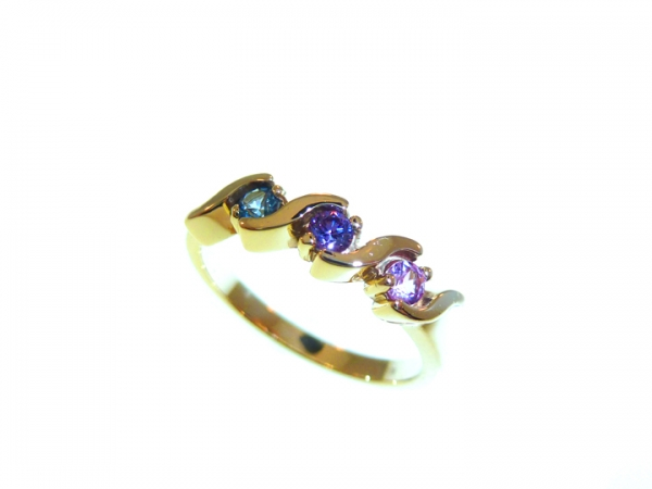 Colored Gemstone Ring by Jewelry with a Past