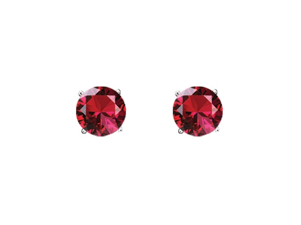 Ruby Studs by Royal Jewelry Manufacturers