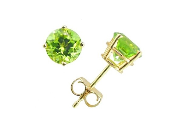 Peridot Studs by Empire