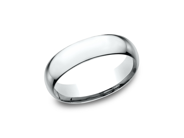 Gold Wedding Band by Benchmark