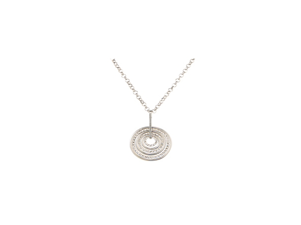 Silver Pendant by Frederic Duclos
