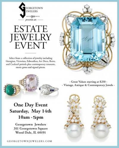 Estate Jewelry Show Georgetown Jewelers Blog Wood Dale Illinois